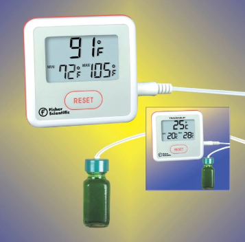 Refrigerator Thermometer with Sealed Probe | Medical Supermarket