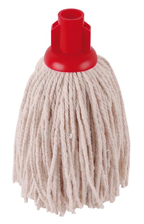 Hygiene Py Yarn Mop Size 12 Red | Medical Supermarket