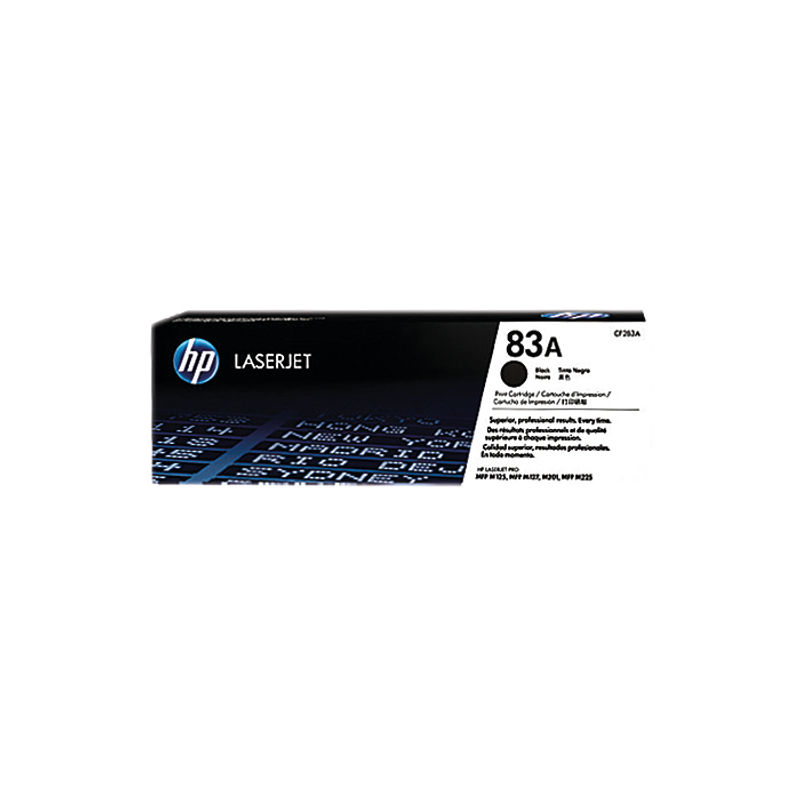 HP No.83A Toner Black | Medical Supermarket