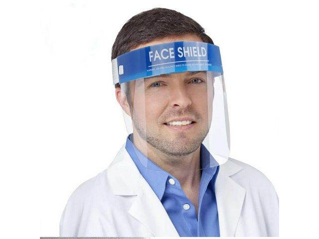 Protective PVC Face Shield Anti-Fog | Medical Supermarket