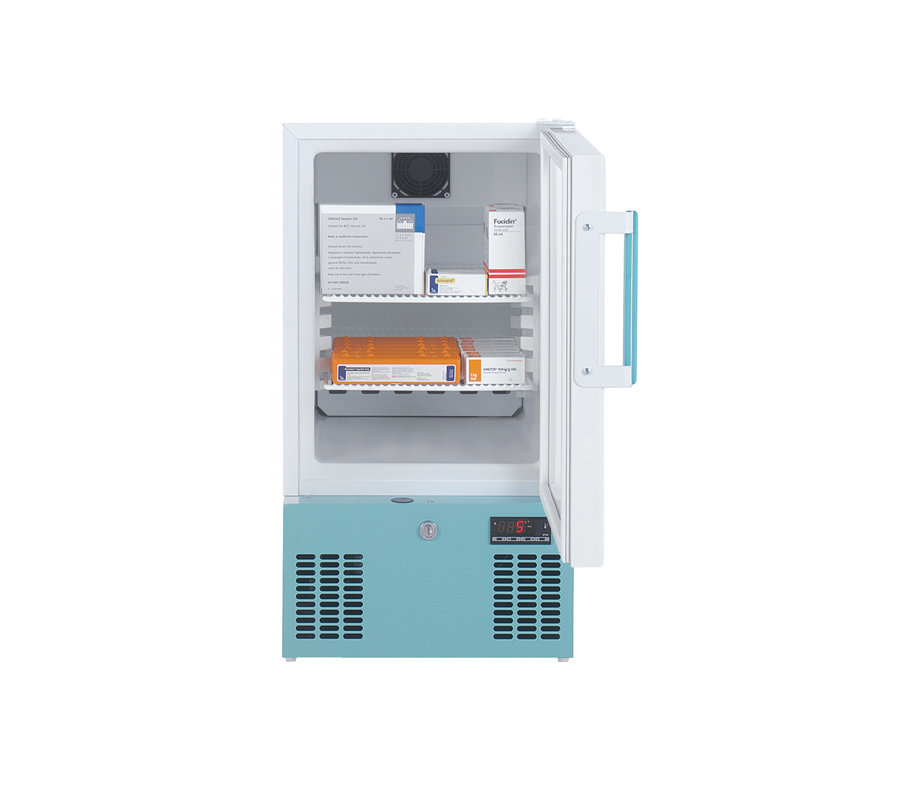 Lec PEGR41UK Pharmacy Refrigerator with Glass Door (41 Litres) | Medical Supermarket