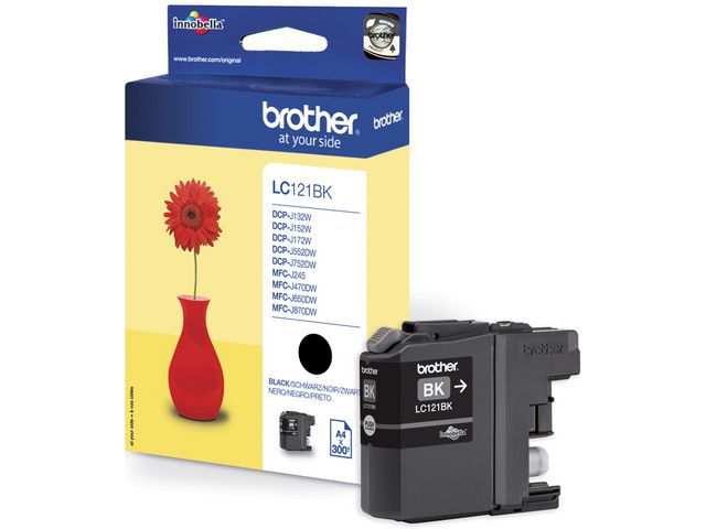 Brother LC121 Ink Cartridge Black | Medical Supermarket