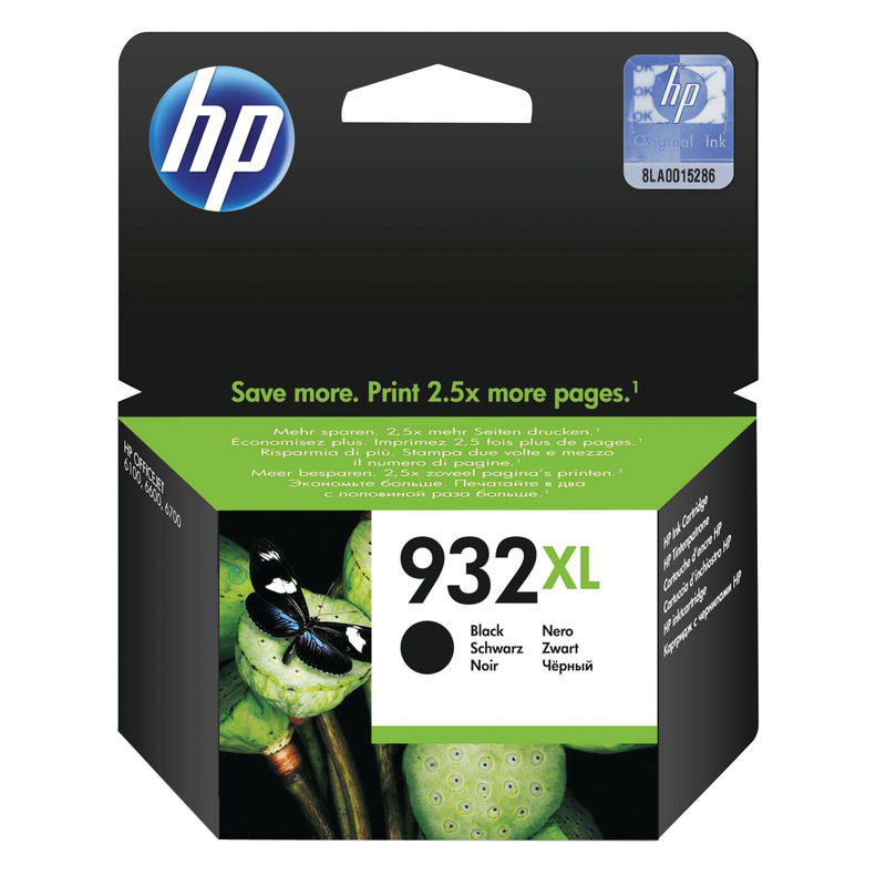 HP No.932XL High Capacity Ink Cartridge Black | Medical Supermarket