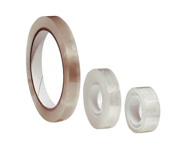 Clear Small Core Sticky Tape 12mm x 33m   Medical Supermarket