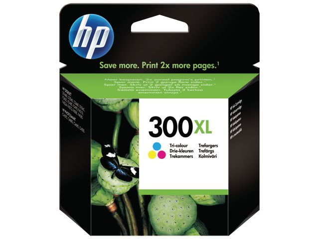 HP No.300XL High Capacity Ink Cartridge Tri-Colour | Medical Supermarket