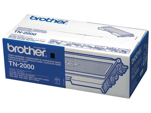 Brother TN2000 Black Toner | Medical Supermarket