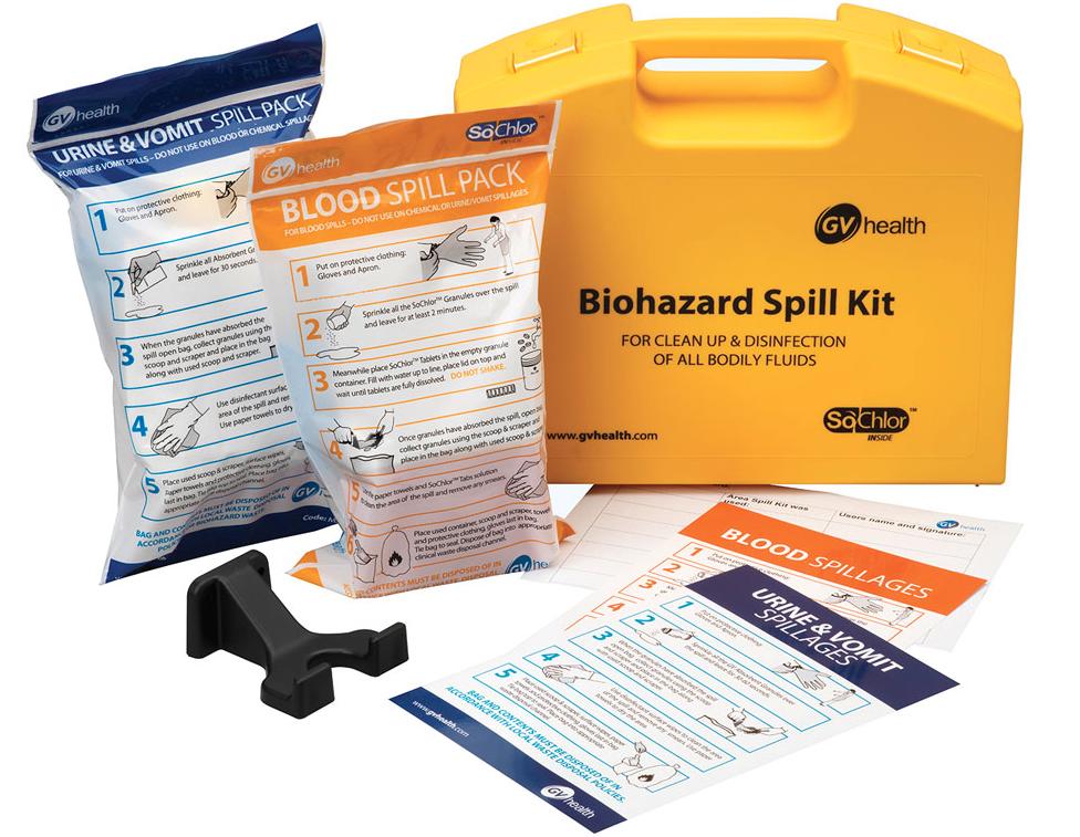 Bodily Fluids Spill Kit | Medical Supermarket