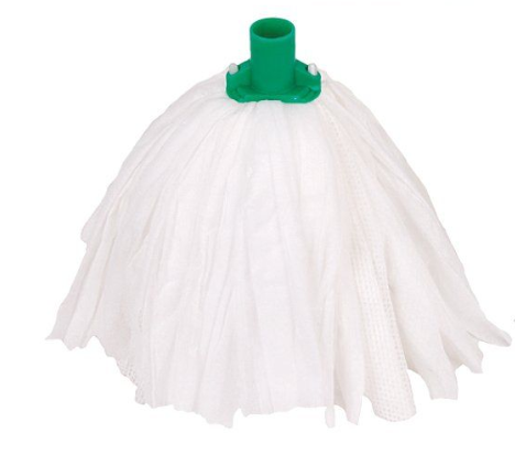 Non - Woven Midi Mop Head Green | Medical Supermarket