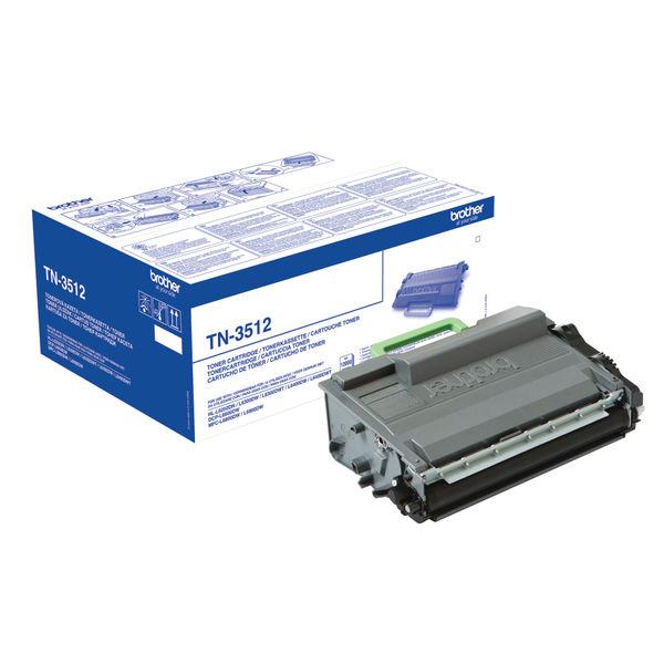 Super High Capacity Black Brother TN3512 Toner Cartridge | Medical Supermarket