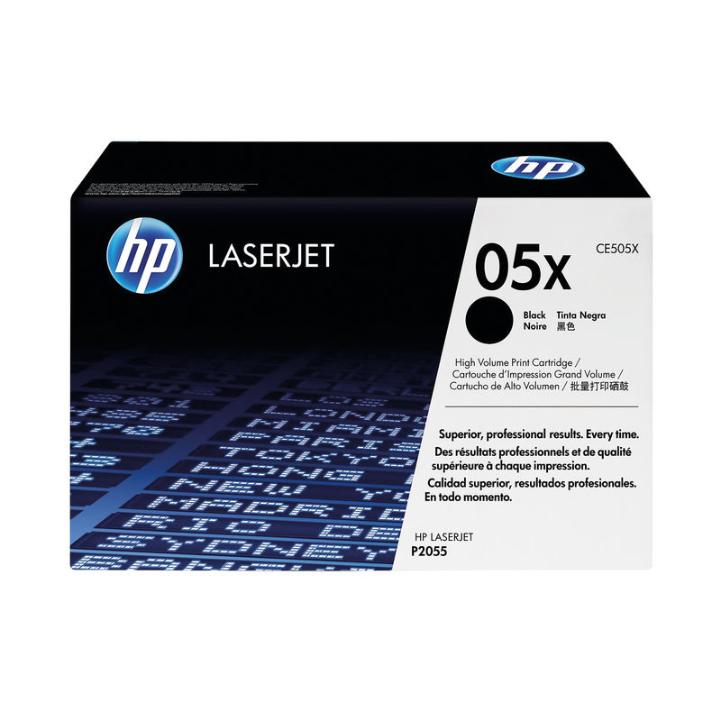 HP No.05X High Capacity Black Toner Single Pack | Medical Supermarket