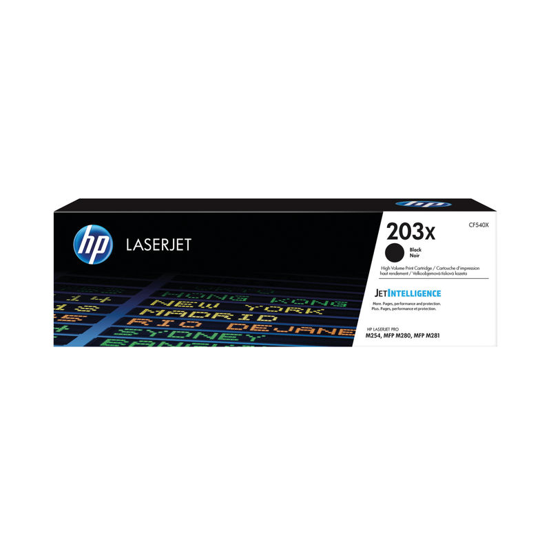 HP 203X Laser Jet Toner Cartridges Black | Medical Supermarket