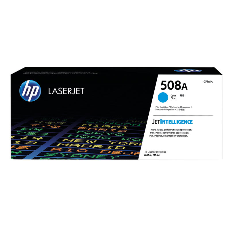 HP No.508A Toner Cartridge Cyan | Medical Supermarket