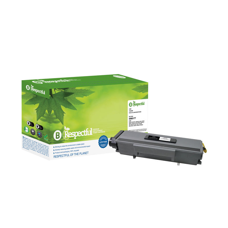 Compatible Brother TN3280 High Capacity Black Toner | Medical Supermarket