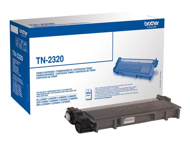 Brother TN2320 High Capacity Black Toner | Medical Supermarket