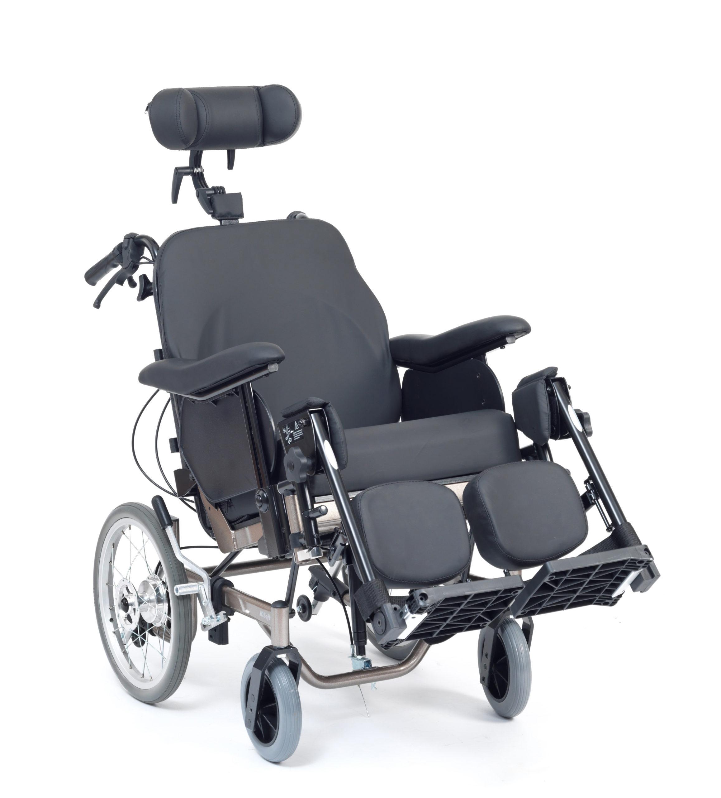 "Transport chair/ Reclining Wheelchair - Transit Wheel 16"" | Medical Supermarket"