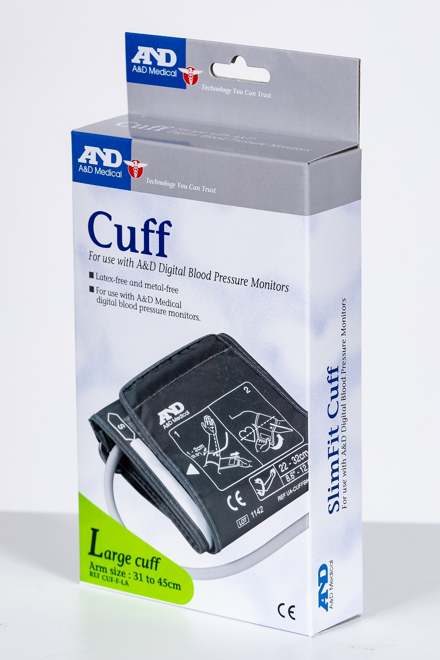BP Cuff for A&D UA Models, Large | Medical Supermarket