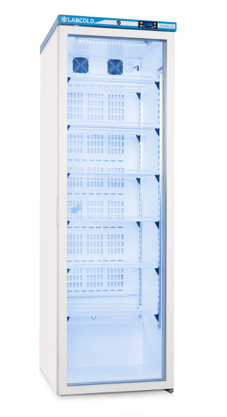 Labcold RLDG1519 Fridge with Glass Door (440 Litre) | Medical Supermarket