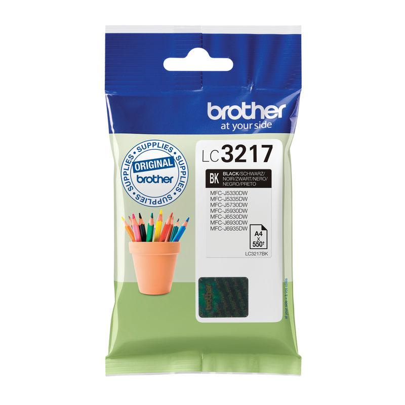 Brother LC3217 Inkjet Cartridge Black | Medical Supermarket