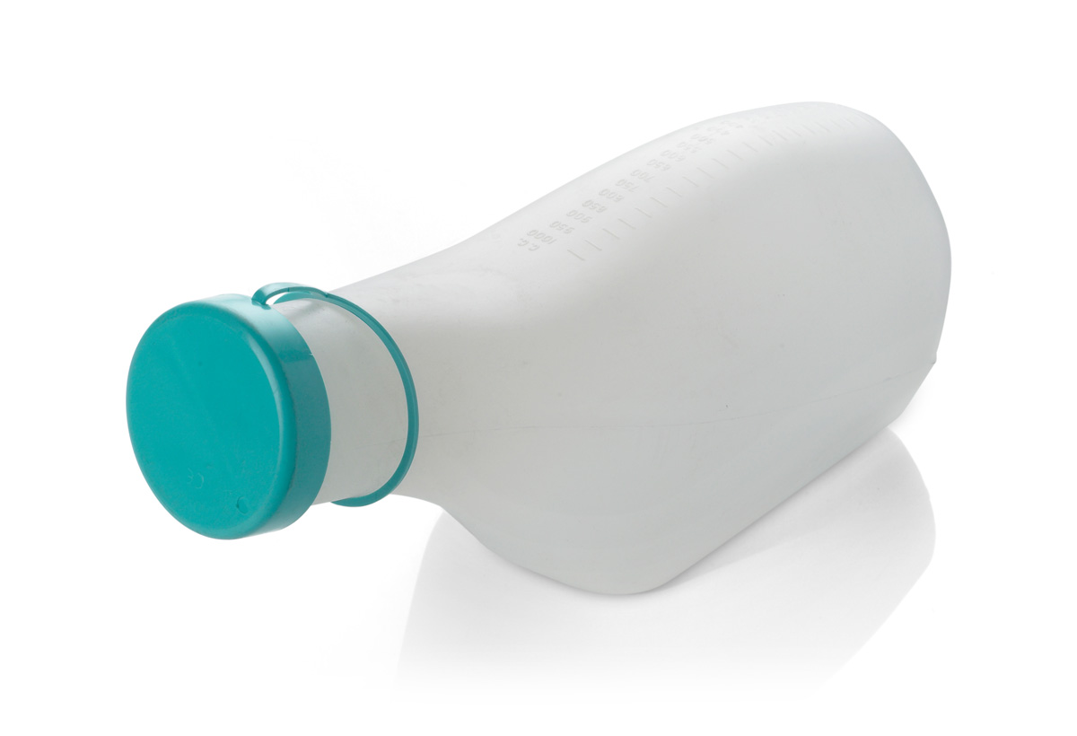 Male Urinal with Cap | Medical Supermarket