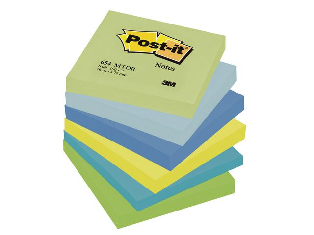 Post-it Dream Colour Sticky Notes 76 x 76mm | Medical Supermarket