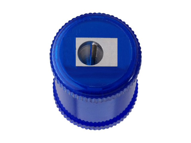 Canister Pencil Sharpener 1 Hole Plastic | Medical Supermarket