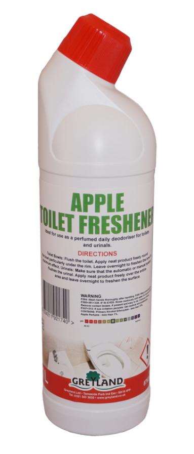 Apple Toilet Cleaner 1 Litre Pack of 1 | Medical Supermarket