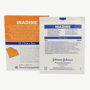 Inadine Dressing 5 X 5cm (Pack of 25) | Medical Supermarket