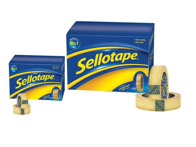 Sellotape Original Golden Tape 24mm x 66m   Medical Supermarket