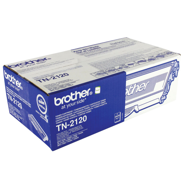Brother TN2120 High Capacity Toner | Medical Supermarket