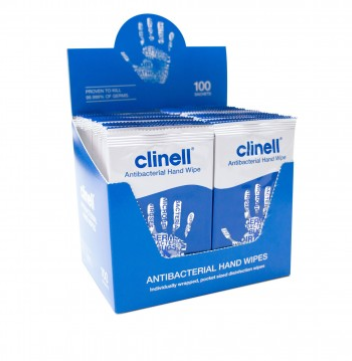 Clinell Antibacterial Hand Wipe | Medical Supermarket