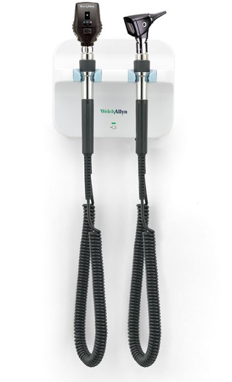 Welch Allyn Green Series 777 Wall Unit - Coaxial Ophthalmoscope and Fibre Optic Otoscope | Medical Supermarket
