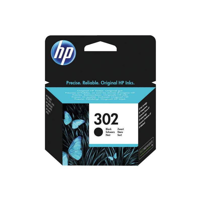 HP No.302 Ink Cartridge Black | Medical Supermarket