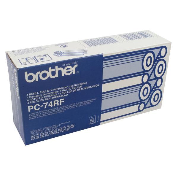 Brother PC-74RF Original Thermal Fax Ribbon Black | Medical Supermarket