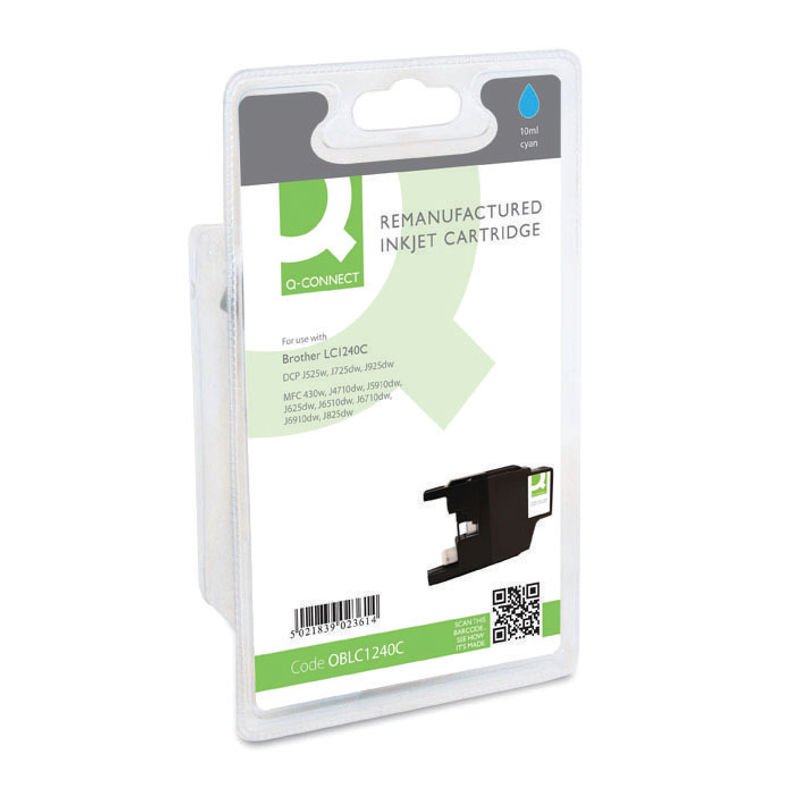 Compatible Brother LC1240 Ink Cartridge Cyan | Medical Supermarket
