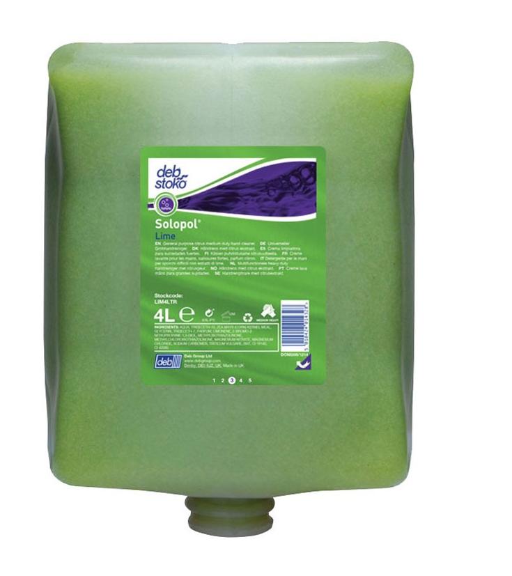 Deb Lime Hand Cleaner Liquid   Medical Supermarket