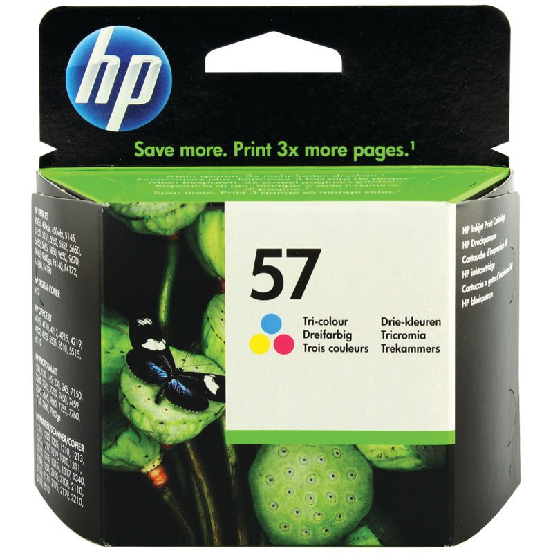 HP 57 Original Ink Cartridge Tri-Colour (C6657A) | Medical Supermarket