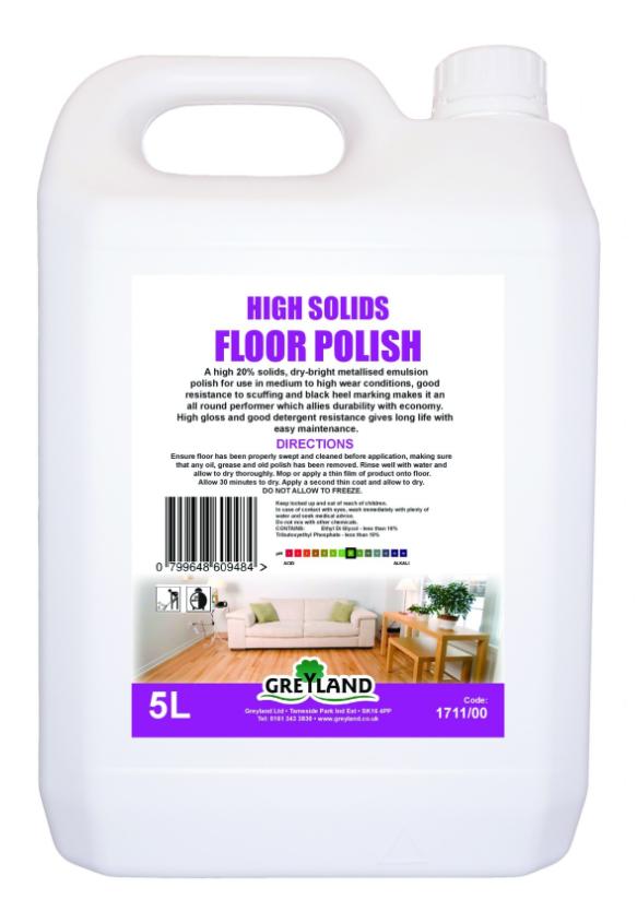 Floor Polish 5 Litre Pack of 1 | Medical Supermarket