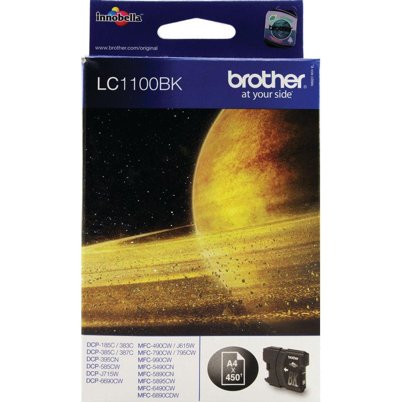 Brother LC1100 Ink Cartridge Black | Medical Supermarket