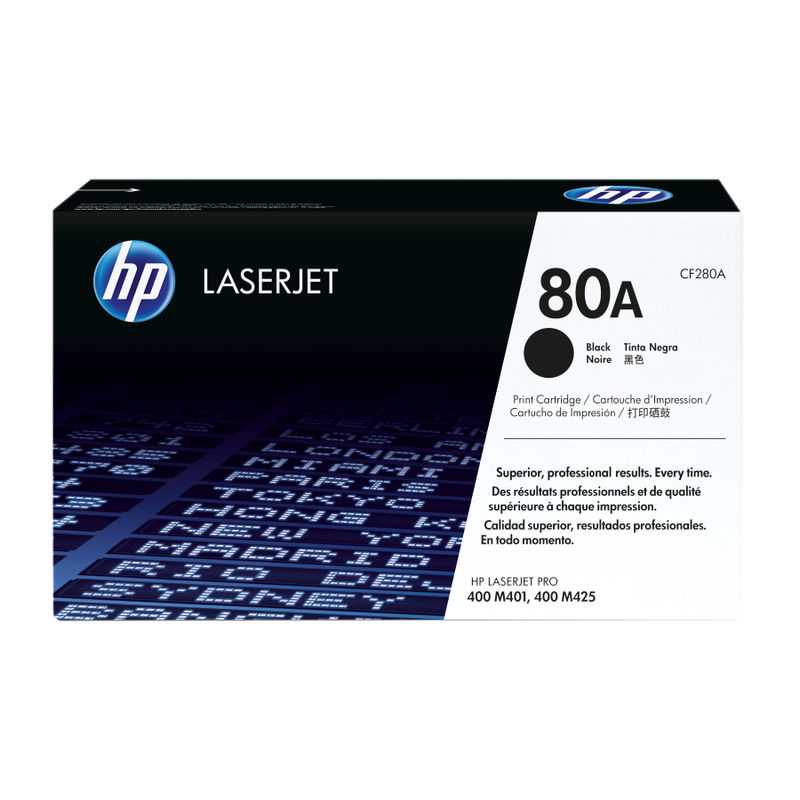 HP No.80A Black Toner | Medical Supermarket