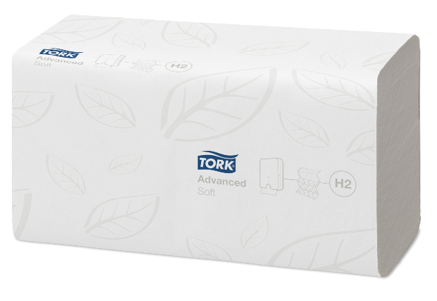 Tork Xpress Advanced Multifold Hand Towels (180) 2ply White (H2) | Medical Supermarket