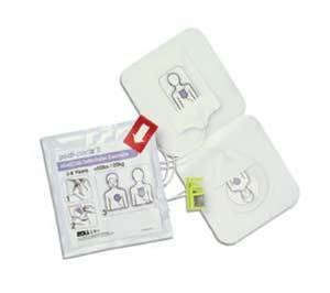 Zoll Defibrillator AED Plus & Pro Electrodes Paediatric Electrodes   Medical Supermarket