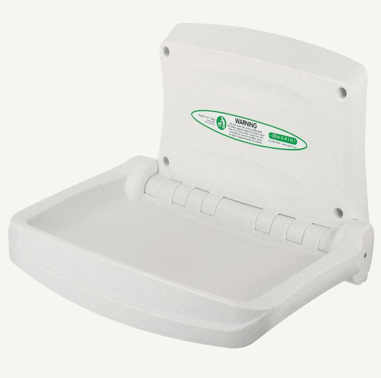 Horizontal Baby Changing Unit White | Medical Supermarket