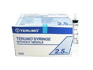 Hypodermic Eccentric Lock Slip Tip Syringe 2.5ml – Without Needle | Medical Supermarket