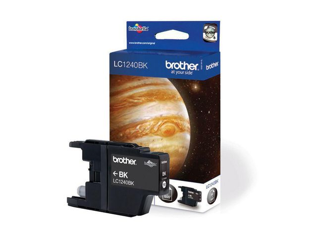 Brother LC1240 Innobella Ink, Ink Cartridge, Black | Medical Supermarket