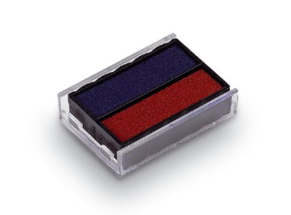 Trodat 4850 Replacement Stamp Pad, 2 Colour Red/Blue | Medical Supermarket