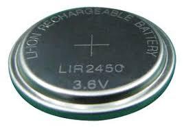 LIR2450 3.6v Lithium Ion Battery | Medical Supermarket