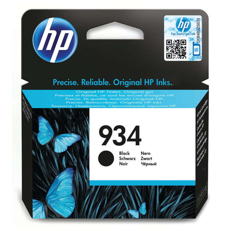 HP No.934 Inkjet Cartridge Black | Medical Supermarket