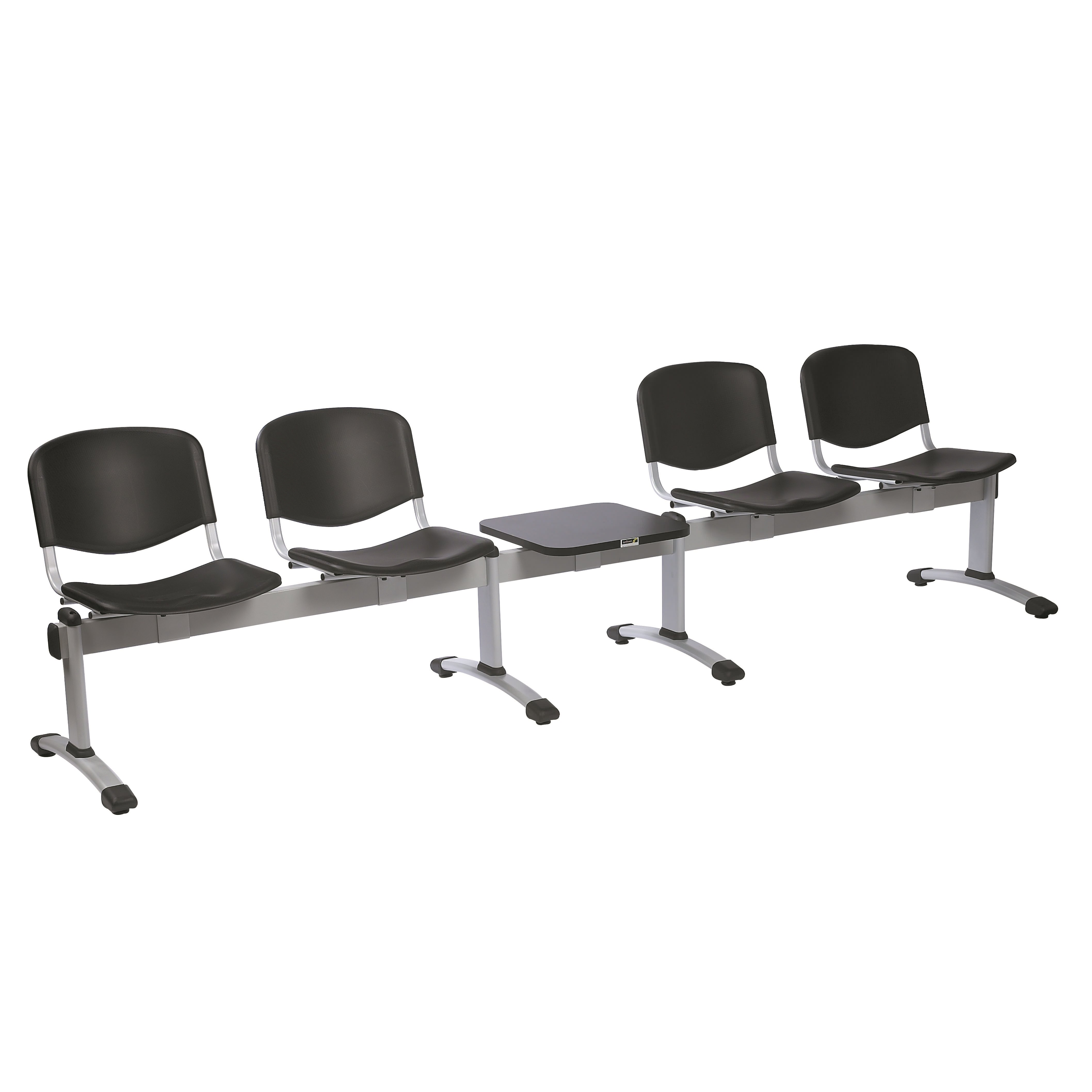 Venus Visitor Chair Module Seating 4 Seats/Backs & 1 Magazine Table | Medical Supermarket