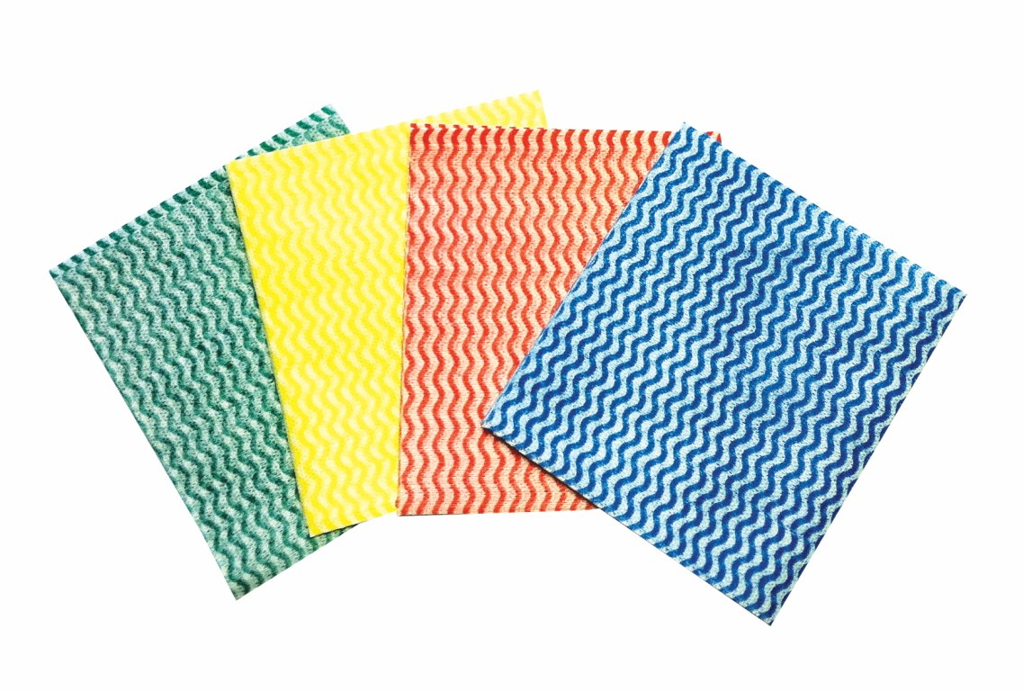 Medium Weight Cleaning Cloths Green | Medical Supermarket