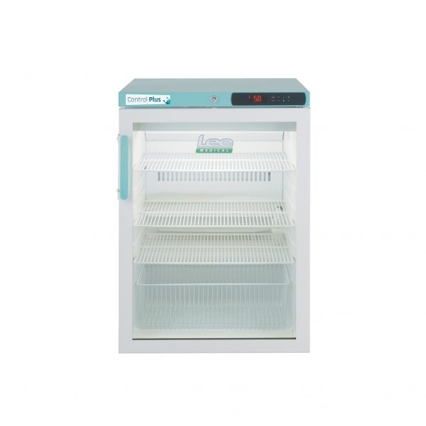 PPGR158UK Under-Counter Glass Door Refrigerator 158 Litre (Digital Lock)   Medical Supermarket